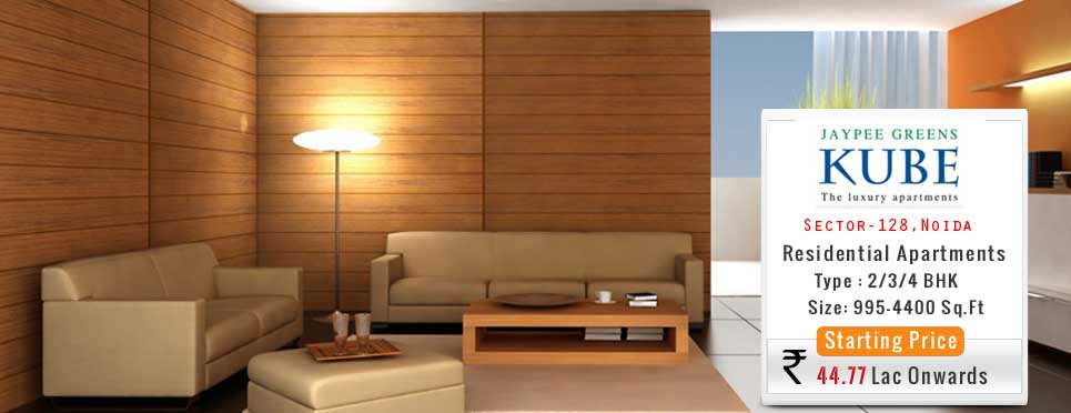 3 Bhk 1740 Sq Ft Residential Apartment Jaypee Kube The Luxury Apartments Noida Expressway